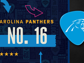 Watch: Panthers pick No. 16 | Mock Draft Live