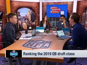 Watch: Kyle Brandt: Dwayne Haskins is my 'favorite' quarterback in this draft