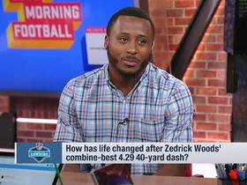 Watch: Zedrick Woods' pitch to NFL GMs: You'll get a 'versatile, physical, fast' player if you draft me