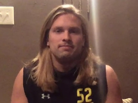 Watch: Chase Winovich discusses what he's looking forward to most at draft day