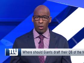 Watch: Brooks: Giants have looked ahead to 2020 and 2021 QB draft classes