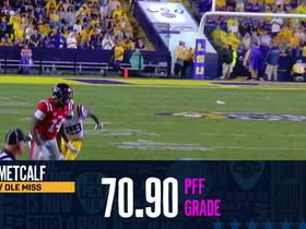 Watch: PFF DRAFT GRADES D.K. METCALF