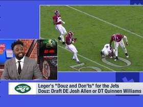 Watch: Leger Douzable's 'Douz and Dont's' for the Jets ahead of the draft