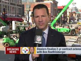 Watch: Rapoport: Steelers, Roethlisberger finalize 2-yr contract extension