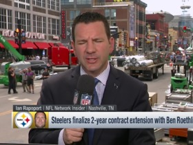 Watch: Rapoport: Big Ben's new contract means he will retire with Steelers