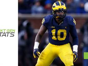 Watch: Next Gen Stats: Breaking down LB Devin Bush