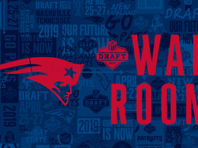 Watch: Patriots' 2019 draft war room: Projecting New England's selections