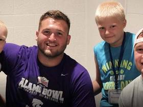 Watch: Dalton Risner has built unique friendships through service