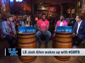 Watch: Josh Allen on how he stands out from other prospects: 'Just look at the numbers'