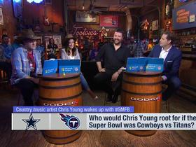 Watch: Chris Young shares his reaction to Jason Witten returning to the Cowboys