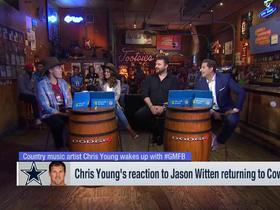 Watch: Chris Young joins 'GMFB' to discuss Titans, Cowboys, country music