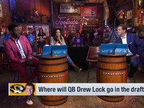 Watch: Missouri HC Barry Odom explains why Drew Lock will be a franchise QB in the NFL