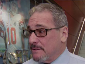 Watch: Gettleman: The goal is to draft two instant starters in first round