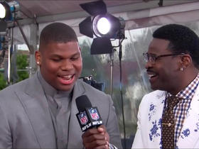 Watch: Quinnen Williams says he didn't get call from Cards about No. 1 pick