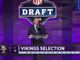 Watch: Vikings select Garrett Bradbury No. 18 in the 2019 draft