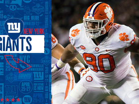 Watch: Giants select Dexter Lawrence No. 17 in the 2019 draft
