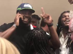 Watch: L.J. Collier gets first-round phone call from Seahawks
