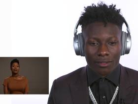 Watch: Marquise Brown reacts to sisters' draft message