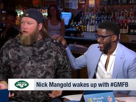 Watch: Nick Mangold on Sam Darnold: 'Good things are coming'