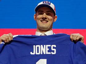 Watch: Kimberly Jones: The goal for Daniel Jones is to 'sit and wait' at least a year
