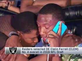 Watch: Hear what Clelin Ferrell told the Raiders when he got the draft call