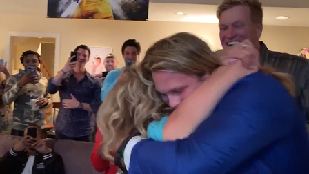 Chase Winovich is HYPED after draft call from New England