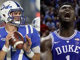 Watch: Daniel Jones reacts to possibility of Zion Williamson being drafted by Knicks