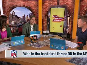 Watch: Who is the best dual-threat RB in the NFL?