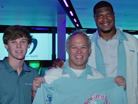 Watch: Calais Campbell hosted second annual Bowling Classic for CRC Foundation