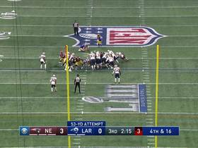 Watch: Made Field Goal by Greg Zuerlein
