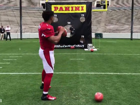 Watch: Rookie Premiere: Kyler Murray tests arm accuracy