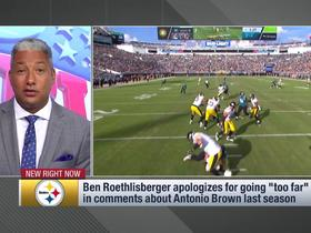 Watch: Roethlisberger apologizes for going 'too far' in comments about AB
