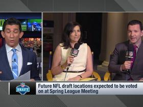 Watch: Rapoport: Denver, Kansas City among top candidates to host future NFL drafts