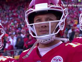 Watch: Mahomes says he can throw ball '100 yards' in Mexico City