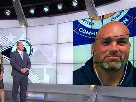 Watch: Andrew Whitworth: I cried during Kyle Williams' final career game