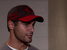 Watch: Garoppolo: 'There's been some arguments' over how much I can do at OTAs