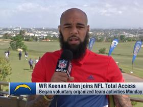 Watch: Keenan Allen on Philip Rivers: 'We know what's at stake, Phil's time clock is running down'