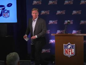 Watch: 60-second recap of Goodell's presser at spring meetings