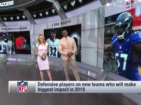 Watch: McGInest's biggest impact defenders in new places