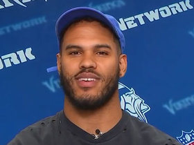 Watch: Anthony Barr discusses his IG post on half-court shot contest