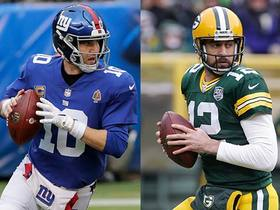 Watch: Are the Giants QBs comparable to Brett Favre and Aaron Rodgers?