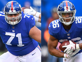 Watch: Why Hernandez is secret to Saquon's success | Baldy's Breakdowns