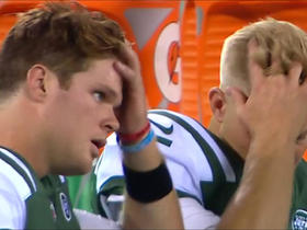Watch: A look back at Josh McCown's, Sam Darnold's in-sync hair flip