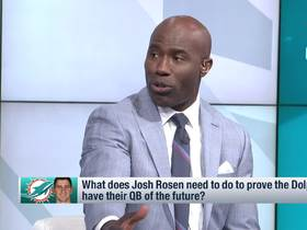 Watch: Terrell Davis outlines 'step one' for Josh Rosen to become Miami's franchise QB