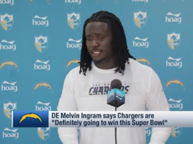 Watch: Ingram: Bolts are 'definitely' going to win Super Bowl in '19