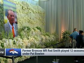 Watch: Broncos hold public tribute to late owner Pat Bowlen