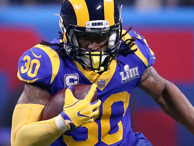 Watch: T.D.: Gurley's knee 'at some point is going to wear out'