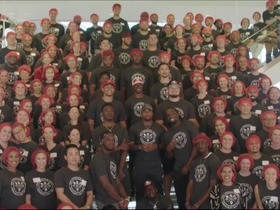 Watch: 49ers held sixth Annual Community Day to provide meals to fight hunger