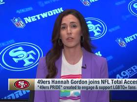 Watch: 49ers CAO Hannah Gordon describes team's '49ers PRIDE' fan club