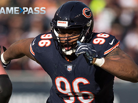 Watch: Game Pass Film Session: How Akiem Hicks reads offensive linemen to make plays